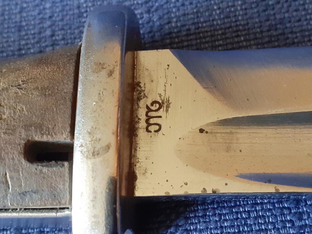 Identification fabricant baïonnette Mauser ww2  20210618