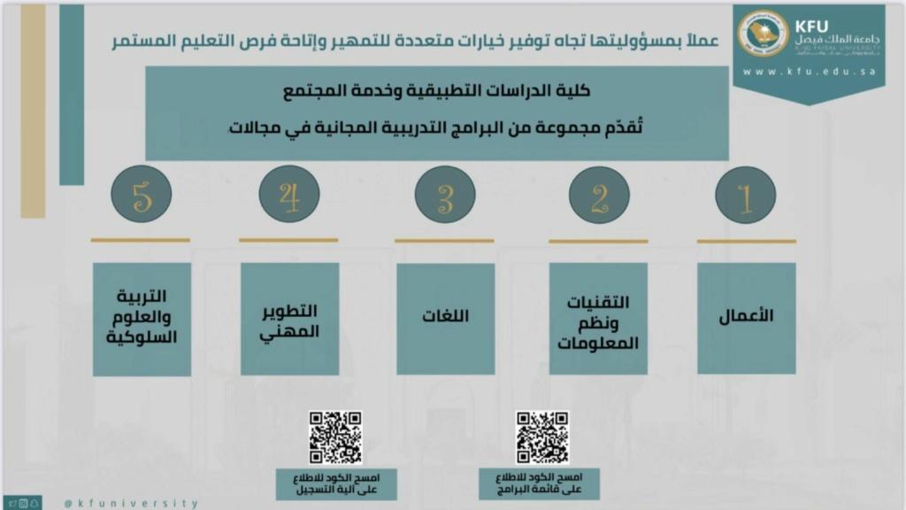 60 دورة مجانية عن بعد مع شهادة حضور معتمدة من جامعة الملك فيصل Ooo11