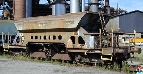Wagon trémie ARBED Sy1710