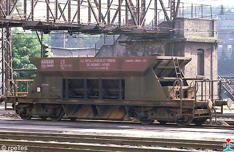 Wagon trémie ARBED Sy1910