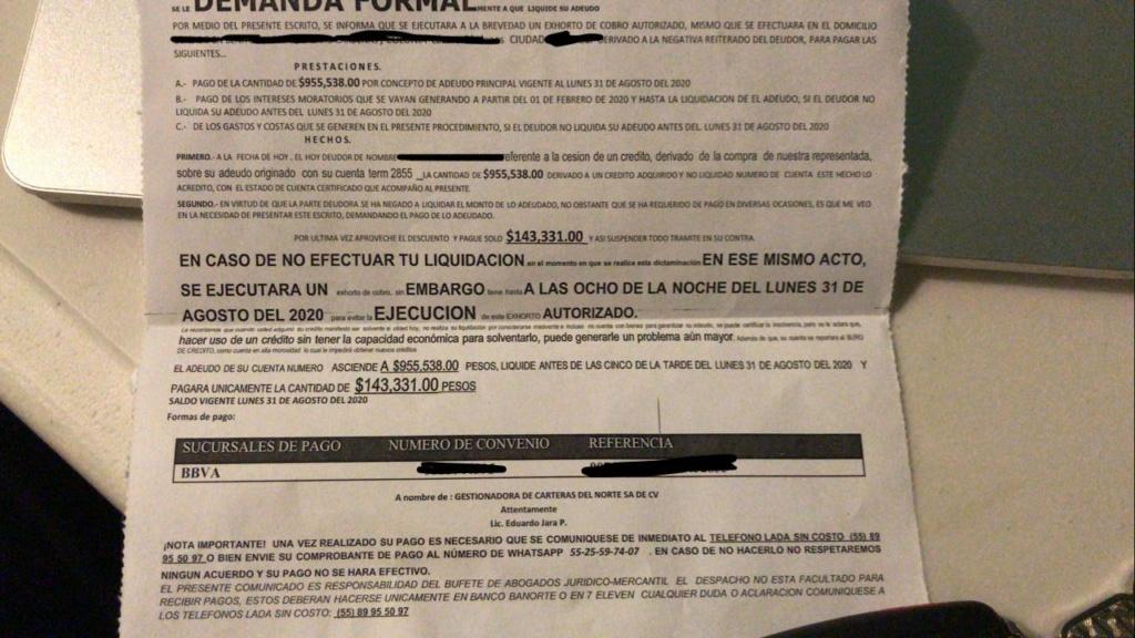 DEMANDA FORMAL POR CREDITO DE NOMINA Whatsa12