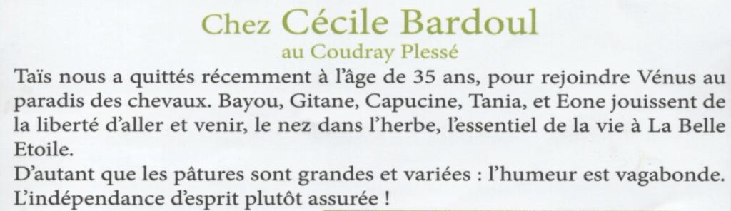 GITANE & CAPUCINE - nées en 1988 - accueillies en mars 2009 chez Pech-Petit  - Page 2 Gitane10