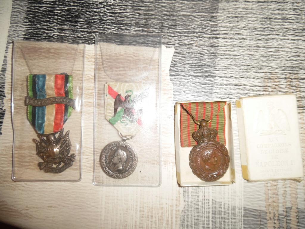 Groupe de médailles et décorations françaises ( Guerre 1870-1871 ) Sam_5317