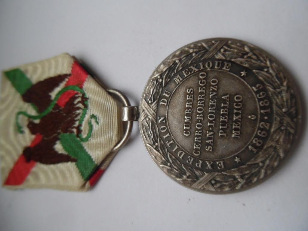 Medaille du Mexique  Camerone Sam_5324