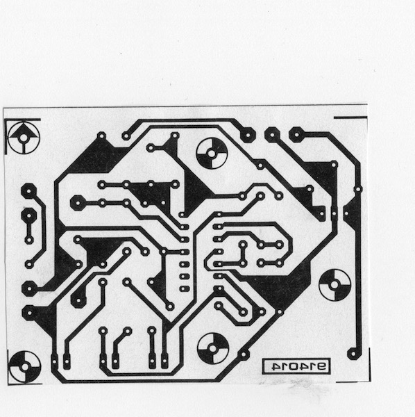 Comment extraire un circuit imprimé  d'une revue électronique  Numzor11