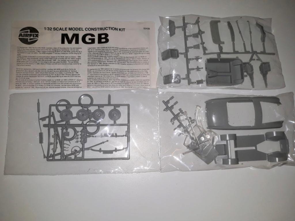 Airfix MGB 1:32 - Baubericht 20210112