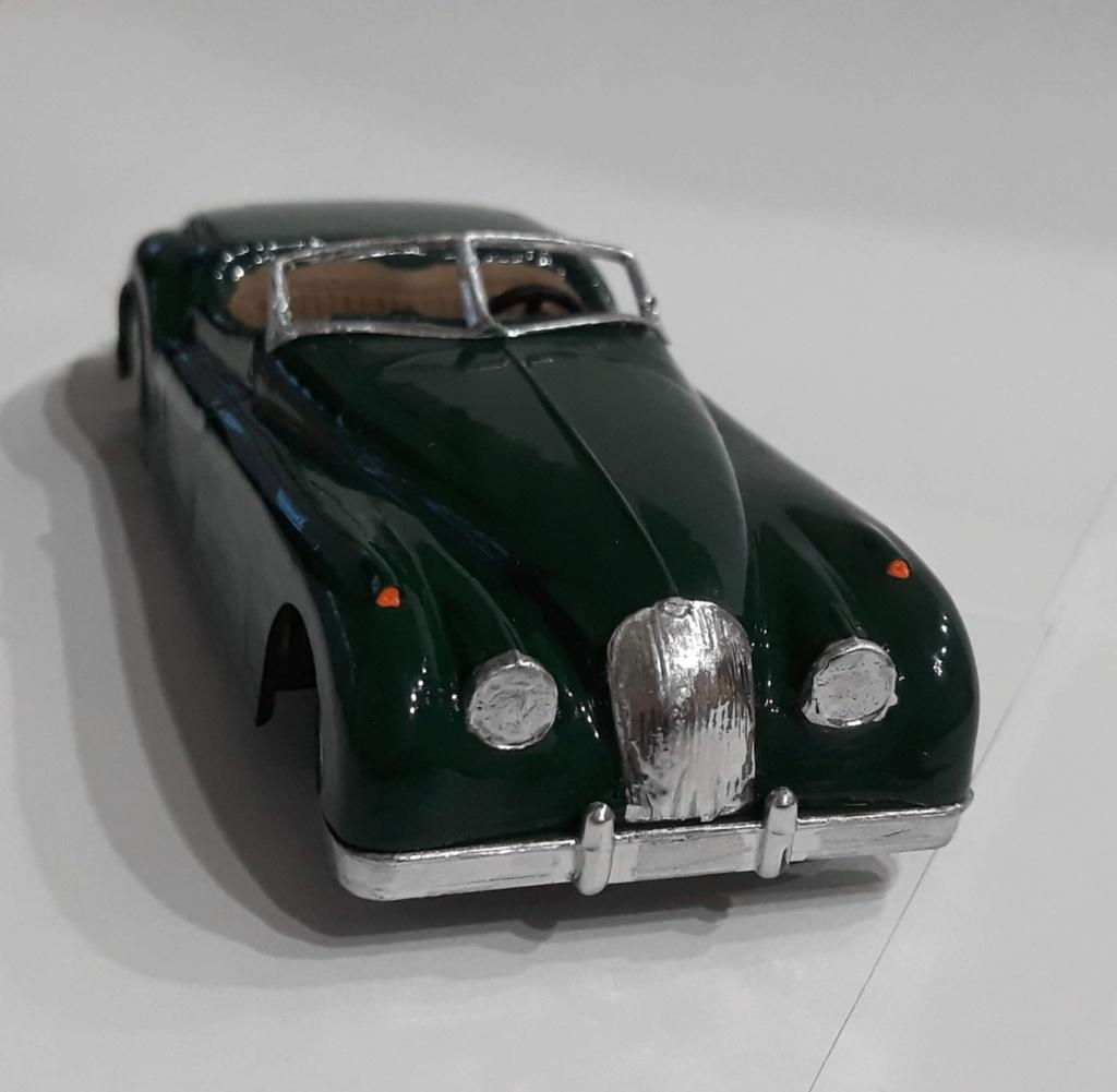 Jaguar XK 120 / Lindberg, 1:32 20210222