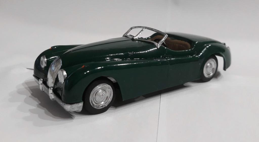 Jaguar XK 120 / Lindberg, 1:32 20210224