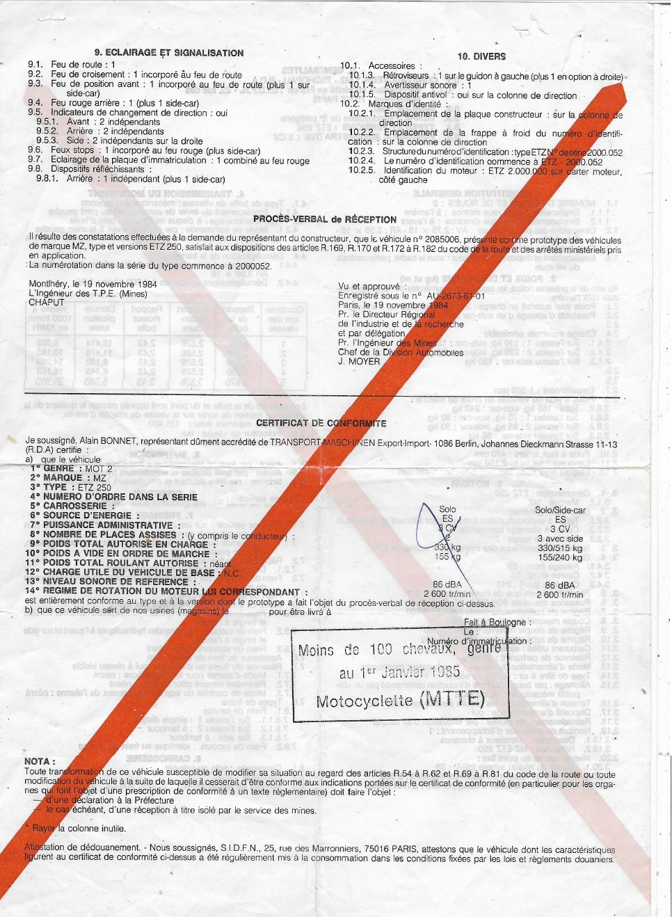 Genre national MZ TS 250/1 immatriculation besoion d'aide. - Page 4 Barre_11