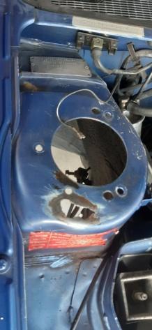 Corrosion Puit amortisseur avant droit 20210710