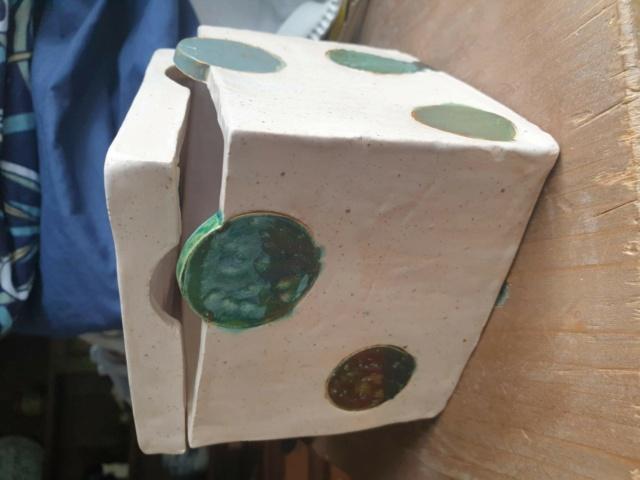 Spotty Lidded Box. Hobby Potter? Spotty10