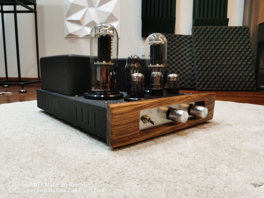 Yarland Pro845 Class A Single ended Integrated Amplifier.(USED) Img_2014