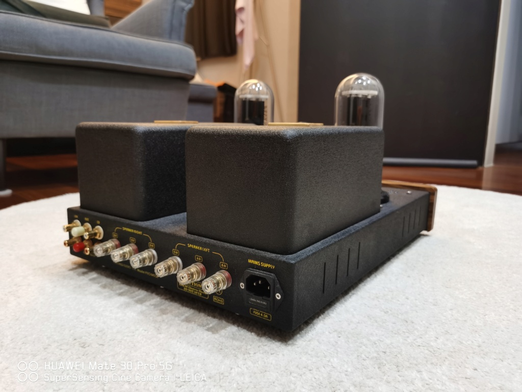 Yarland Pro845 Class A Single ended Integrated Amplifier.(USED) Img_2016