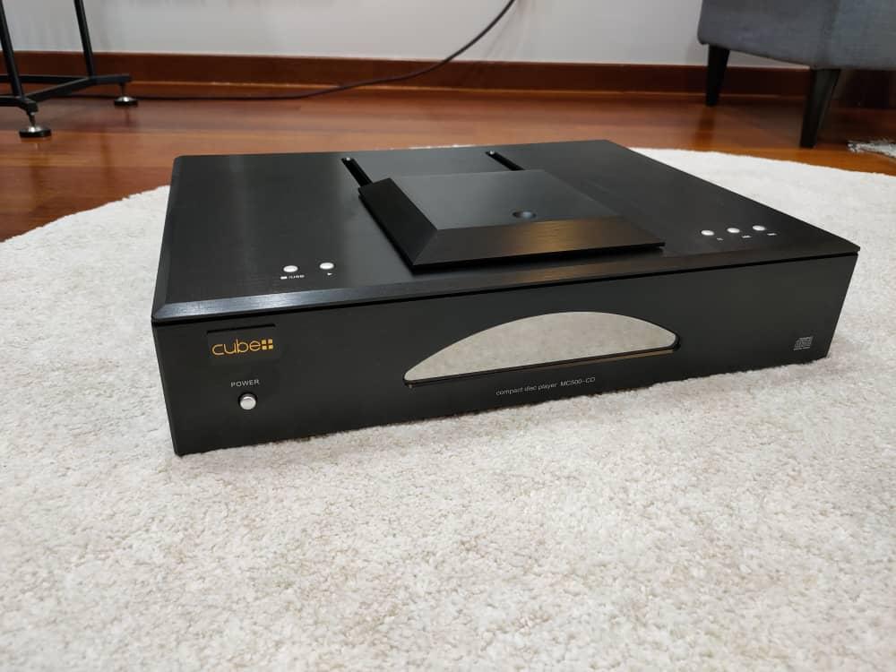 (USED) Cube MC500-CD Balanced With Ruby 12AU7 Tube CD Player USB DAC Whatsa14