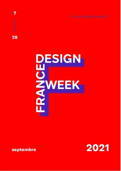 France Design Week : fêtons la rentrée du design du 7 au 28 septembre 2021 ! Affich10