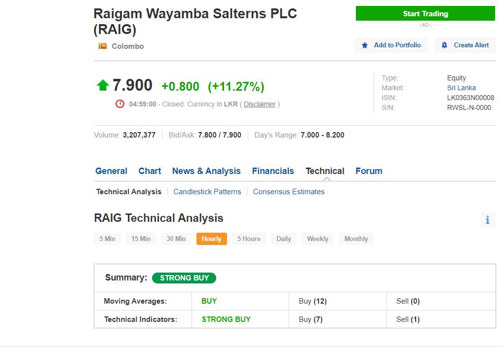RAIGAM WAYAMBA SALTERNS PLC (RWSL.N0000) - Page 17 Screen13