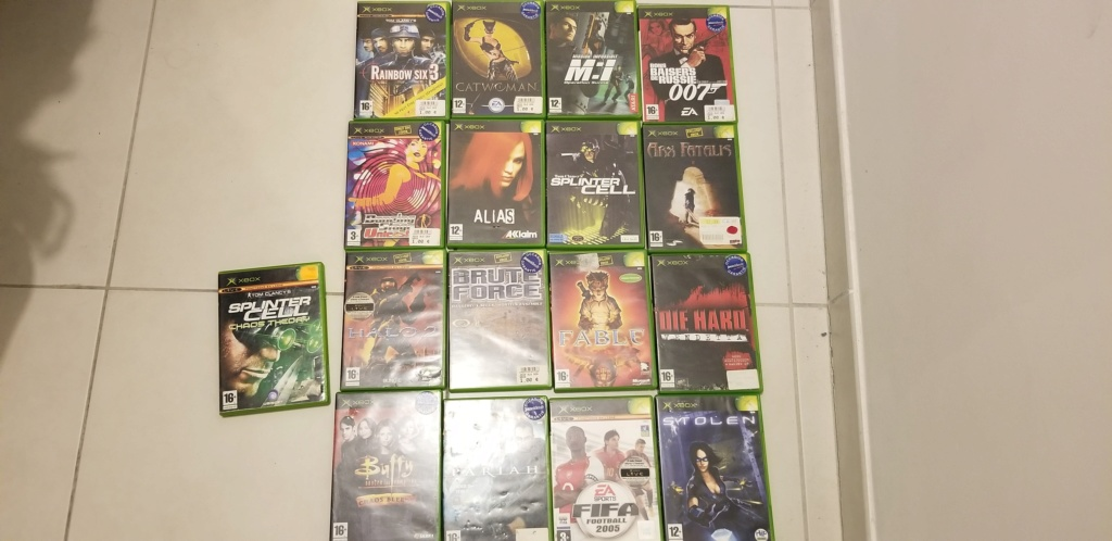 [VDS/ECH] Lots Xbox et Xbox360 20200310