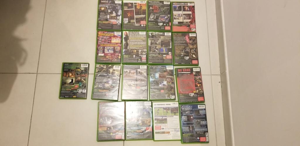 [VDS/ECH] Lots Xbox et Xbox360 20200311
