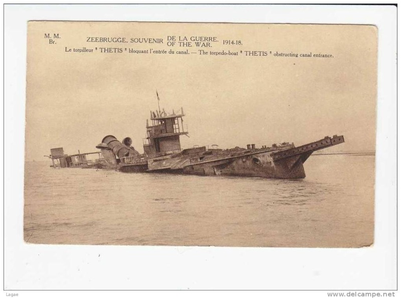 Souvenirs de Guerre : Zeebrugge 1918 170_0010