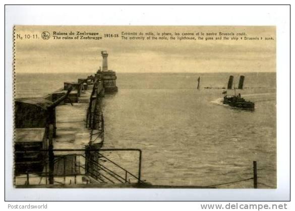 Souvenirs de Guerre : Zeebrugge 1918 425_0010