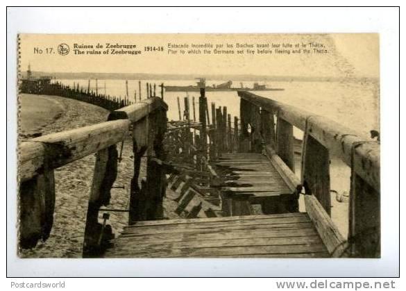 Souvenirs de Guerre : Zeebrugge 1918 441_0010
