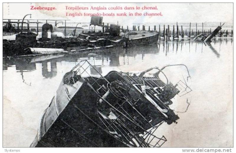 Souvenirs de Guerre : Zeebrugge 1918 760_0010