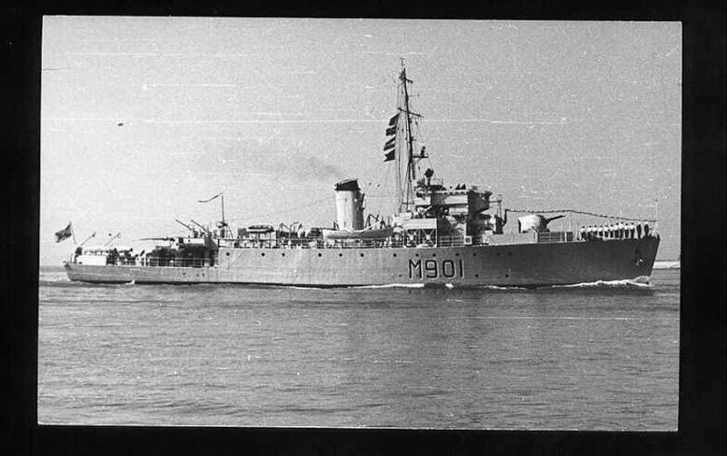 M901 Georges Lecointe (ex HMS Cadmus) George10