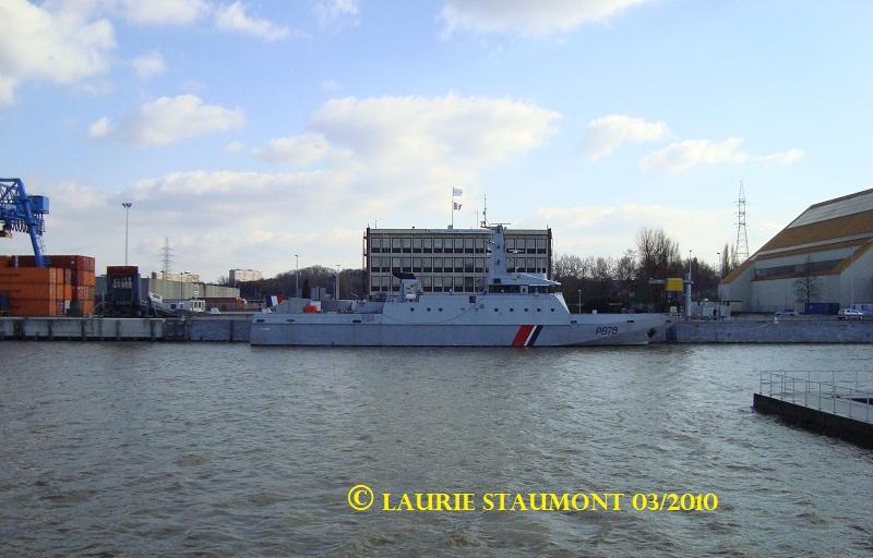 Les patrouilleurs de la Marine Nationale Pluvie11