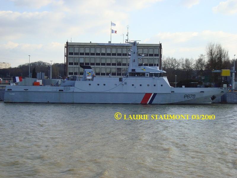Les patrouilleurs de la Marine Nationale Pluvie12