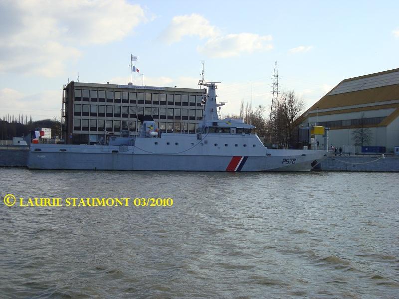 Les patrouilleurs de la Marine Nationale Pluvie13