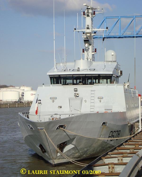 Les patrouilleurs de la Marine Nationale Pluvie14