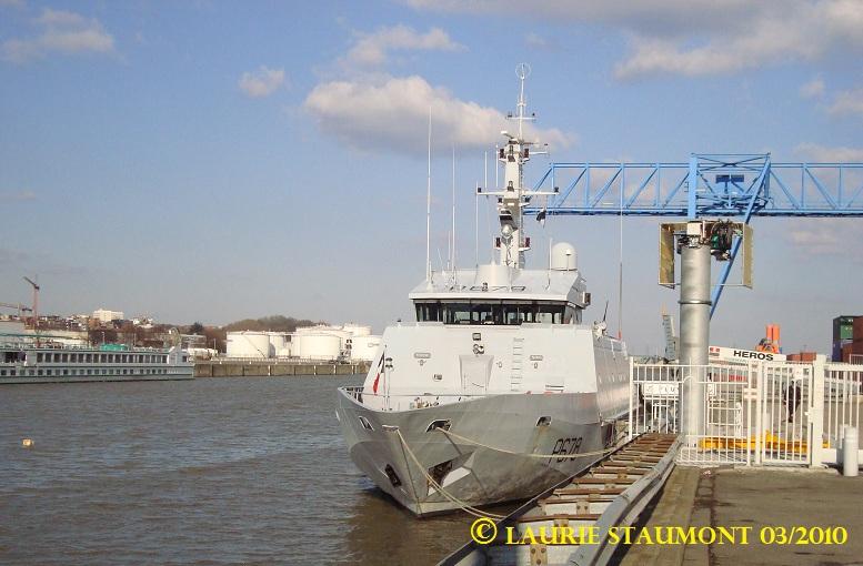 Les patrouilleurs de la Marine Nationale Pluvie15