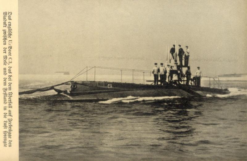 Souvenirs de Guerre : Zeebrugge 1918 Zeebrg14