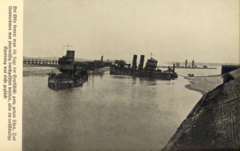 Souvenirs de Guerre : Zeebrugge 1918 Zeebrg17
