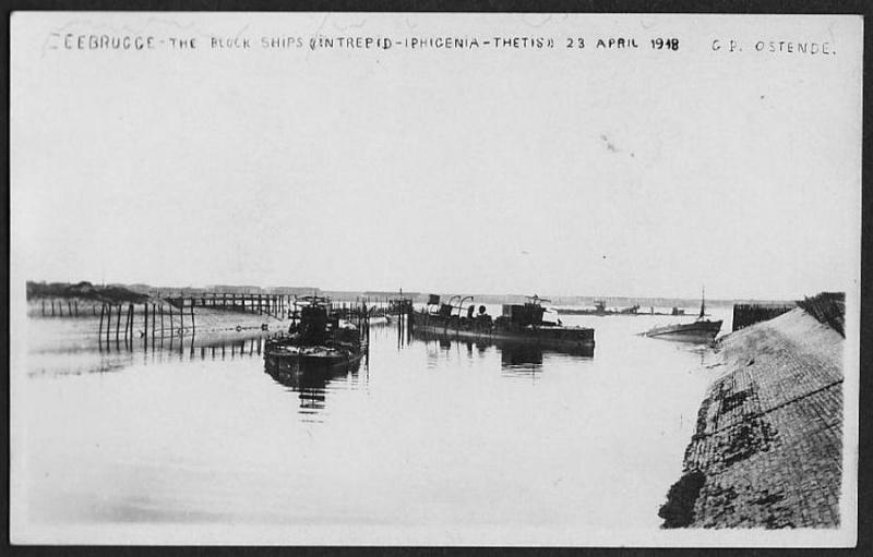 Souvenirs de Guerre : Zeebrugge 1918 Zeebru11