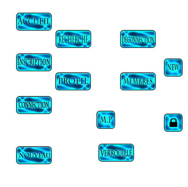 Boutons bleu éléctricque 91909910