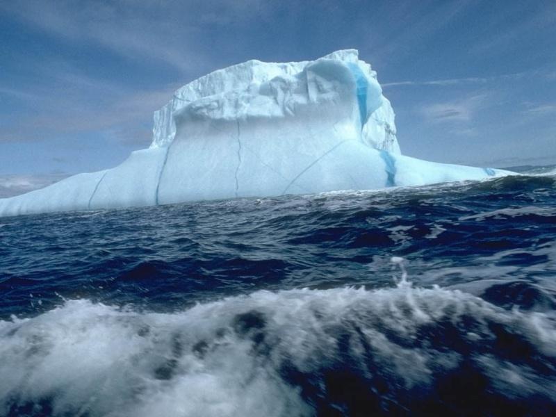 Paysages de montagne. Iceber10