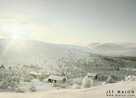 Paysages de montagne. Lapo3211
