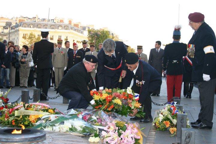 """AG des anciens du Bataillon français de Corée et Cérémonie à l'Etoile - """"352 photos"""" 10-dap10"""