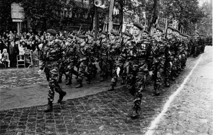 1961 - Dernier défilé du 14e RCP à Toulouse 14ercp10