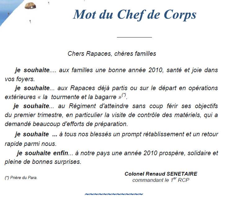 Quelques brèves de RAPACES'Infos n°71 de janvier 2010 1er_rc14