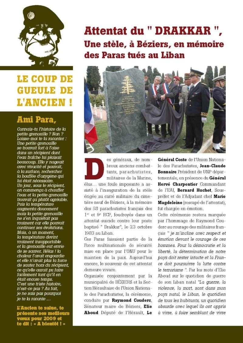 """UNP34 bulletin n°196 """"DEBOUT...ACCROCHEZ!"""" 2009_013"""