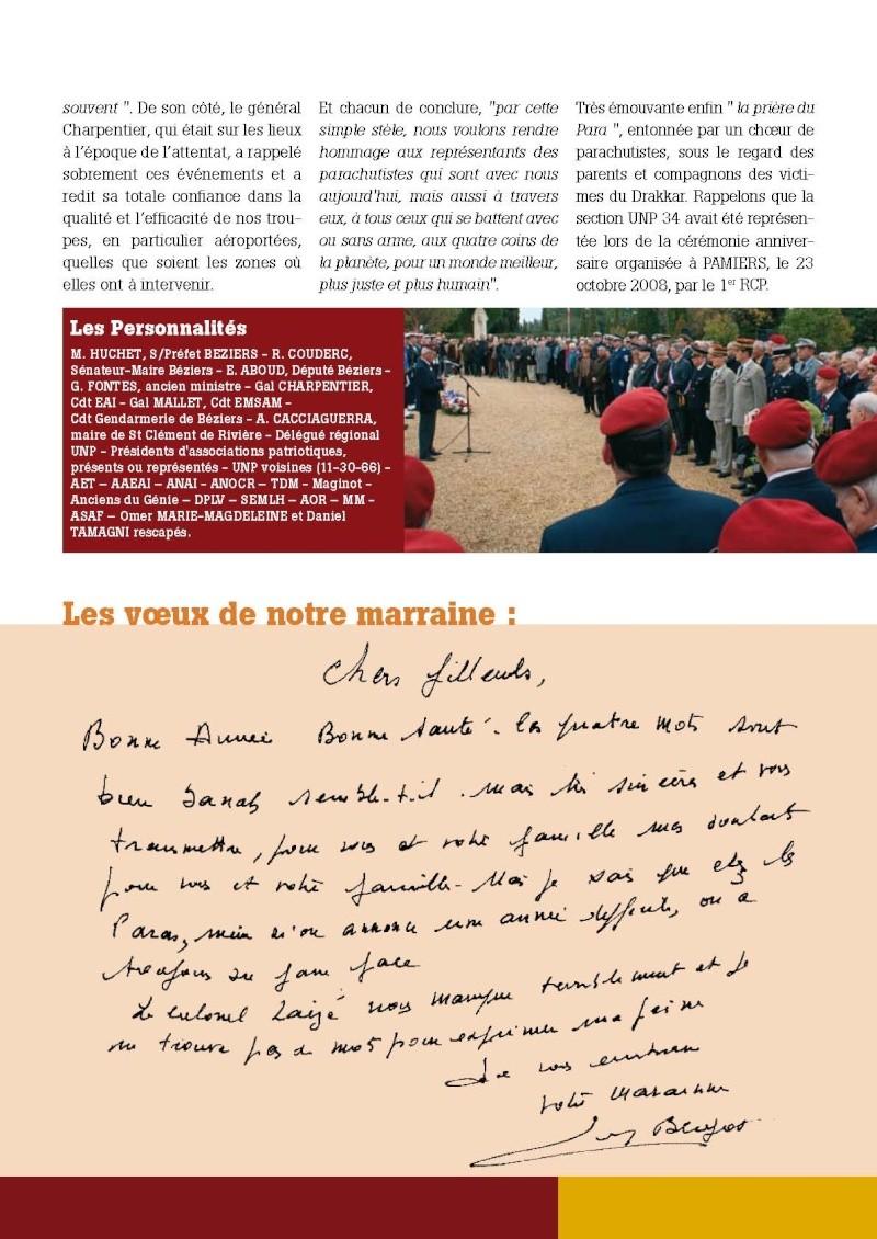 """UNP34 bulletin n°196 """"DEBOUT...ACCROCHEZ!"""" 2009_014"""