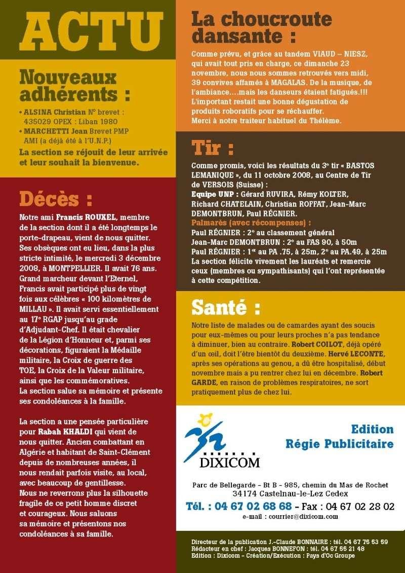 """UNP34 bulletin n°196 """"DEBOUT...ACCROCHEZ!"""" 2009_015"""