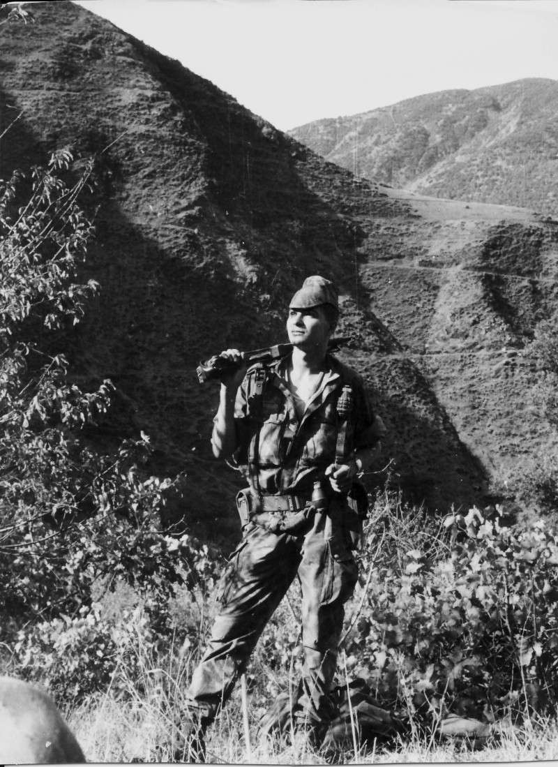 1961 - en avril Aïn-Sefra Algérie Le CPA 50 Casque10
