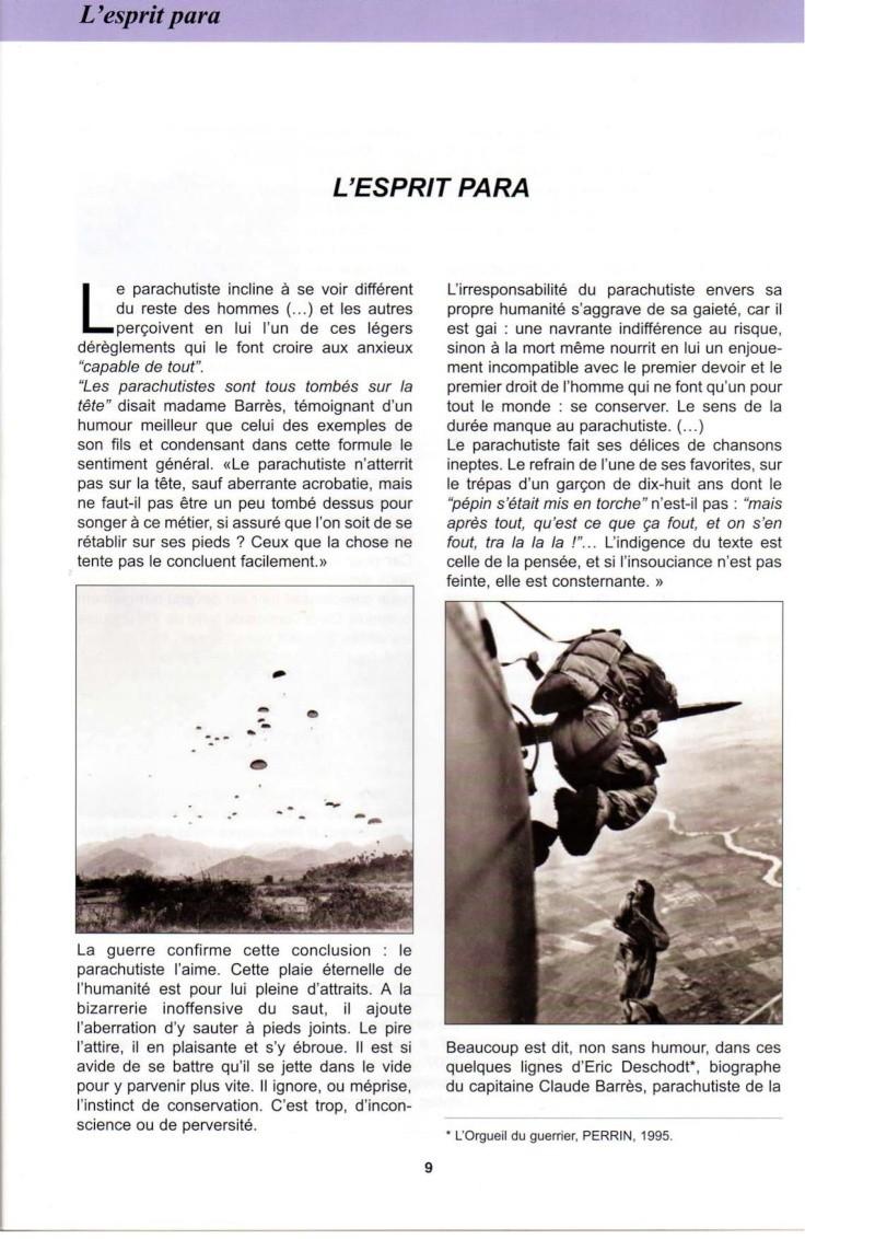 L'esprit para vu par le colonel Patrick Collet Esprit12