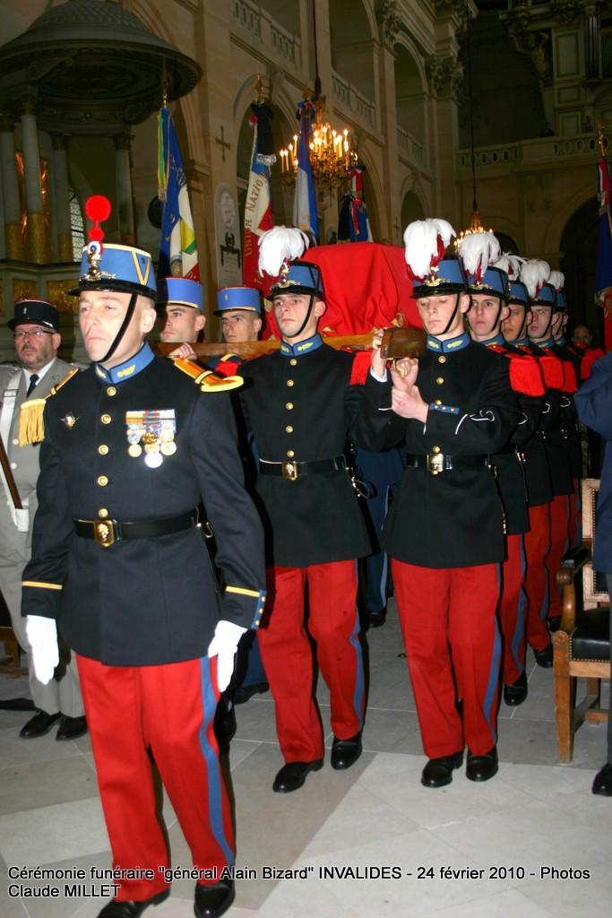BIZARD Alain général  - 18 février aux Invalides. Reportage Cérémonie funèbre 1ère partie 63 photos en ligne Img_5712