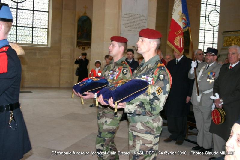 BIZARD Alain général  - 18 février aux Invalides. Reportage Cérémonie funèbre 1ère partie 63 photos en ligne Img_5713