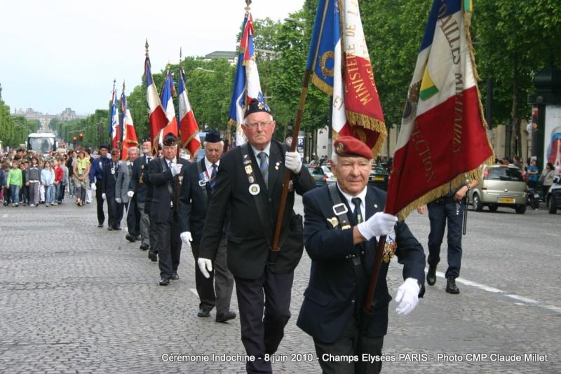 Cérémonie INDOCHINE Arc de Triomphe PARIS 8 juin 2010 report Img_6912