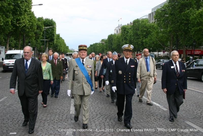 Cérémonie INDOCHINE Arc de Triomphe PARIS 8 juin 2010 report Img_6913